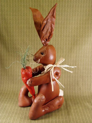 Chocolate Sitting Rabbit