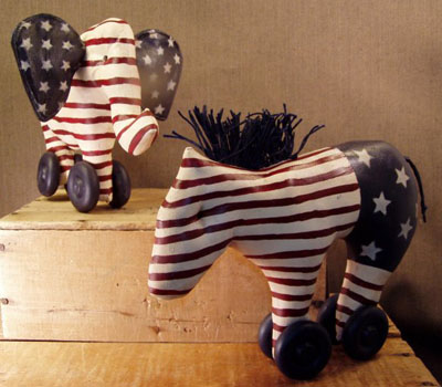 Patriotic Animals - Large