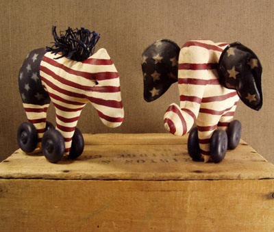 Patriotic Animals - Small
