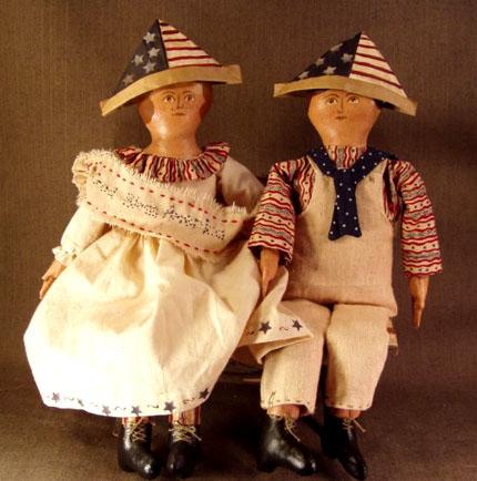 Patriotic Pair <br>(Sold Separately)