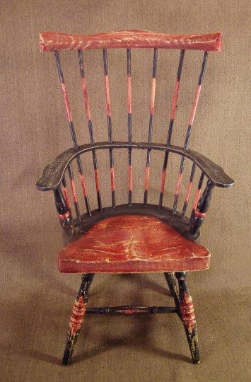 Rustic Fanback Armchair